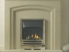 Stone effect Fireplace with Living Flame Gas Fire