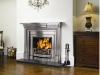 Stovax Cast Iron Mantel with Regency Hob Grate. For Gas or Coal