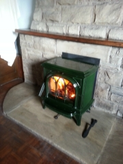 Stovax-enamel-green-multi-fuel-stove