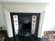 Marble-Mantel-with-Tiled-Cast-Iron-Solid-fuel-Fireplaces
