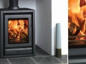 Stovax Freestanding Riva Stove (can also be inset) in Graphite Finish