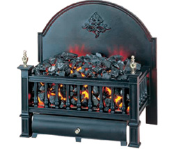 electric basket fire. Trafford Fireplaces Carlisle, Cumbria