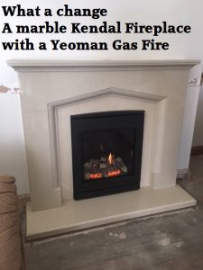 Yeoman Inset Gas Fire